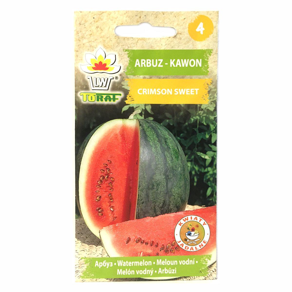 Arbuz kawon Crimson Sweet nasiona Toraf
