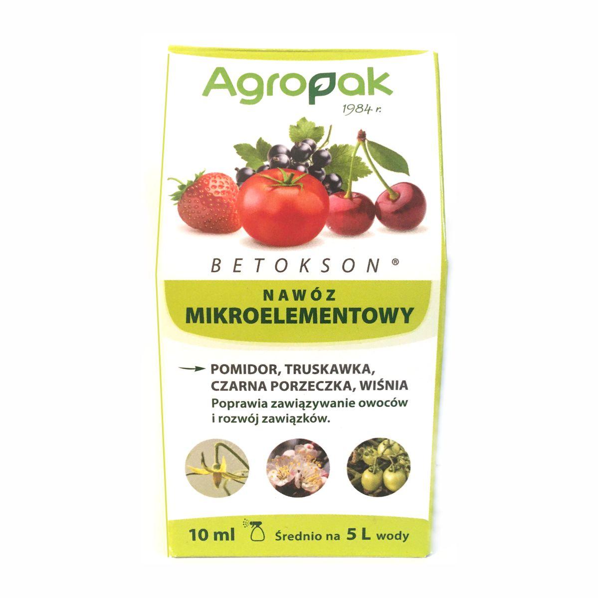 Betokson 10ml nawóz mikroelementowy Agropak