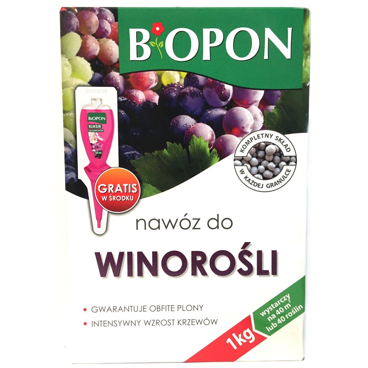 Nawóz do winorośli Biopon 1kg