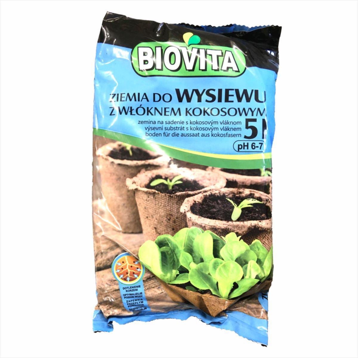 Ziemia do wysiewu Biovita 5 litrów
