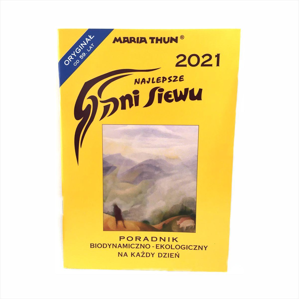 Dni Siewu 2021 Maria Thun