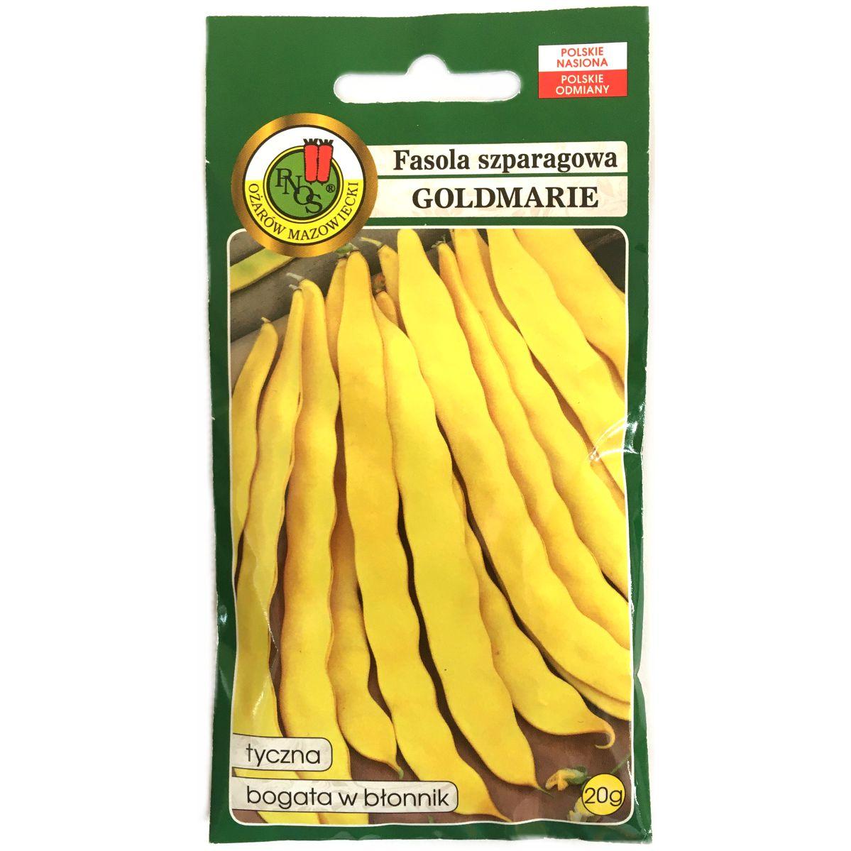 Fasola szparagowa Goldmarie nasiona PNOS