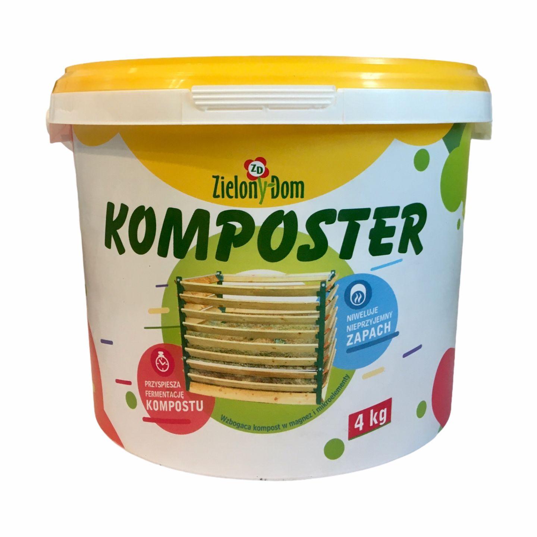Komposter 4 kg Zielony Dom
