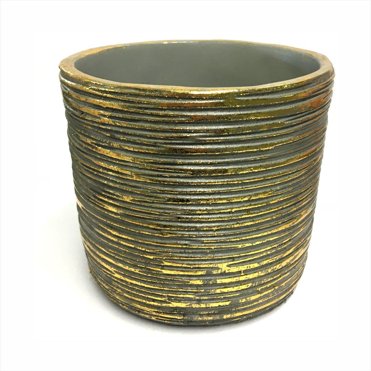 Osłonka ceramiczna złota Polnix 14 cm