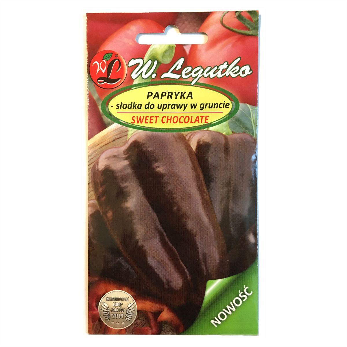 Papryka Sweet Chocolate nasiona Legutko