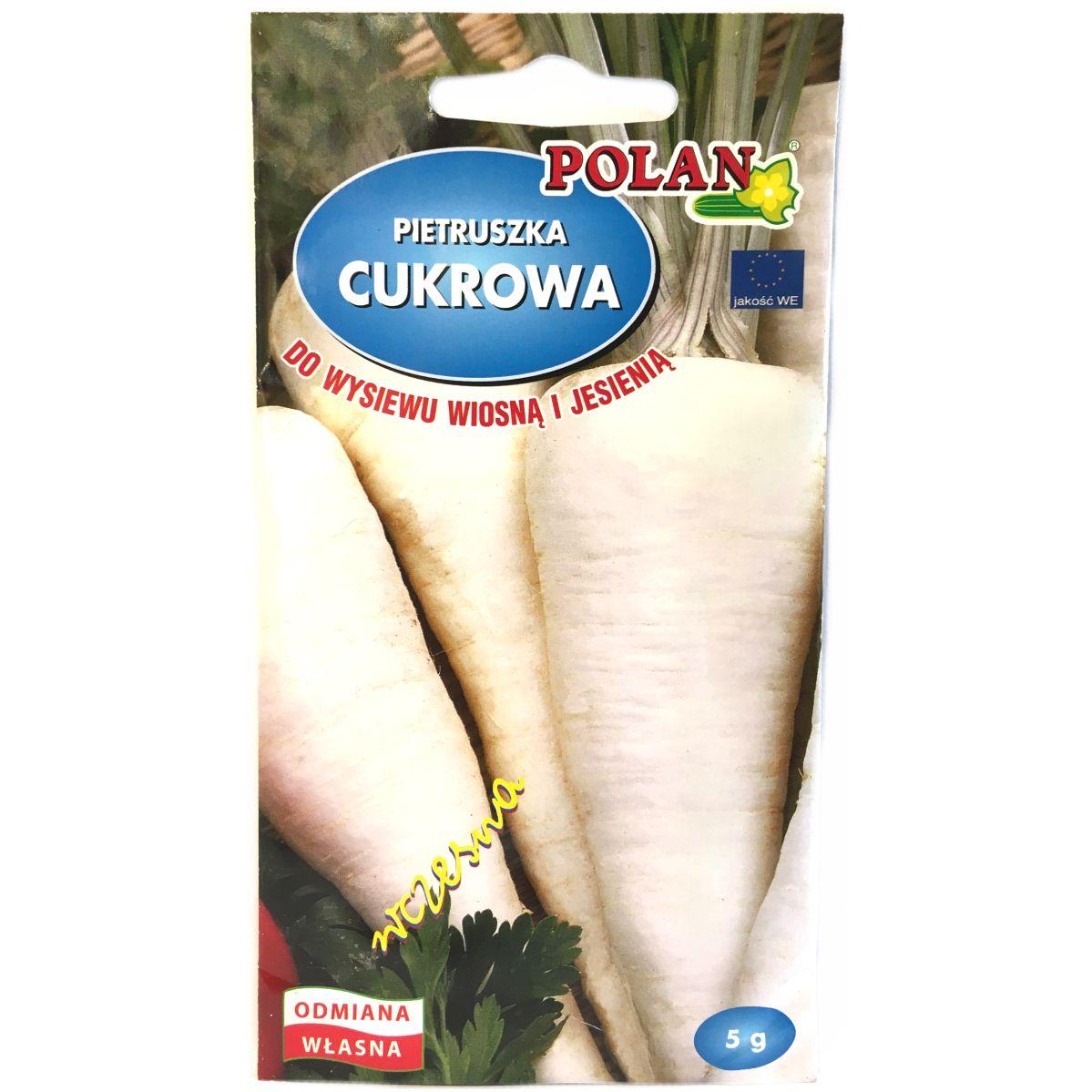 Pietruszka Cukrowa nasiona Polan