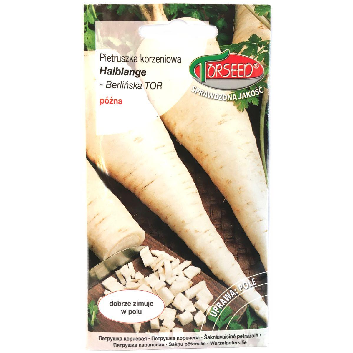 Pietruszka Halblange Berlińska nasiona Torseed