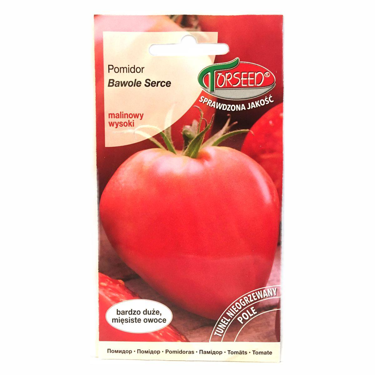 Pomidor Bawole Serce nasiona Torseed