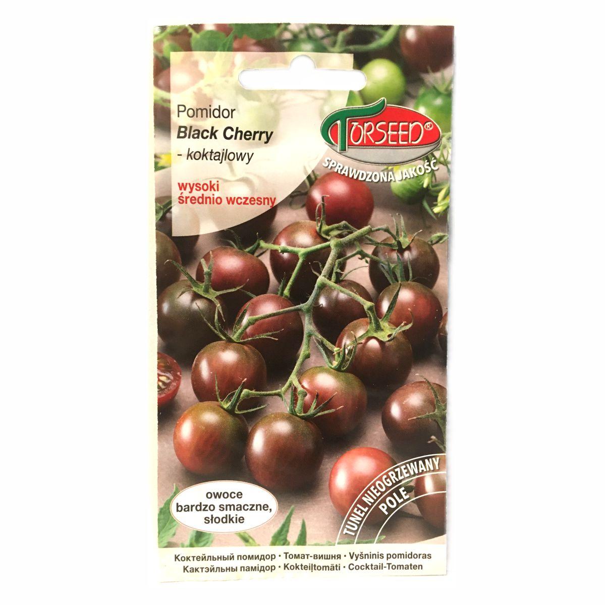 Pomidor Black Cherry nasiona Torseed