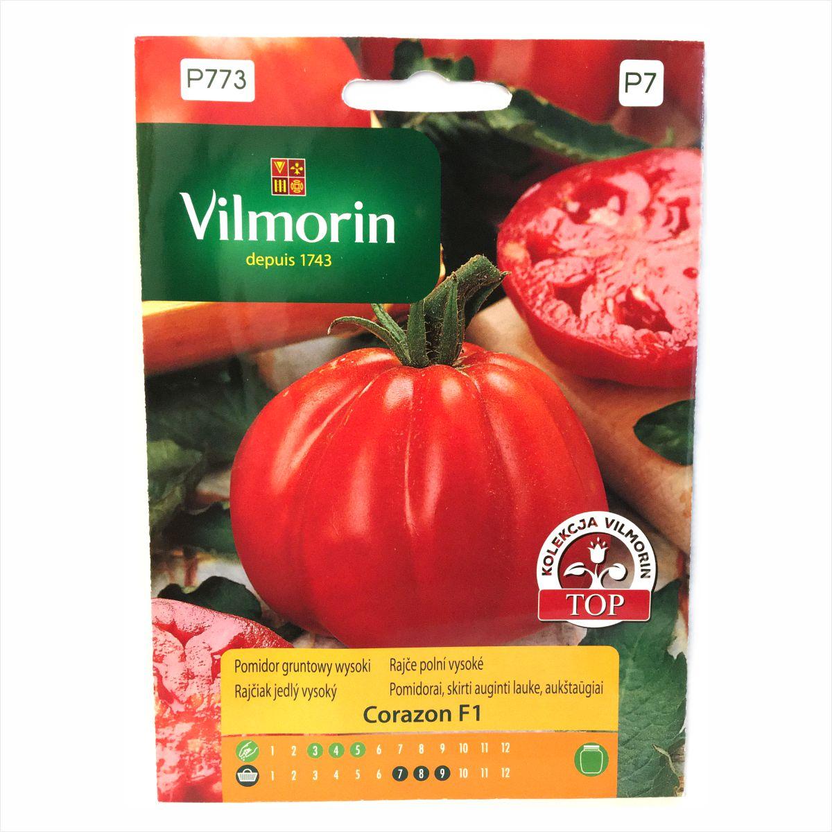 Pomidor Corazon F1 nasiona Vilmorin