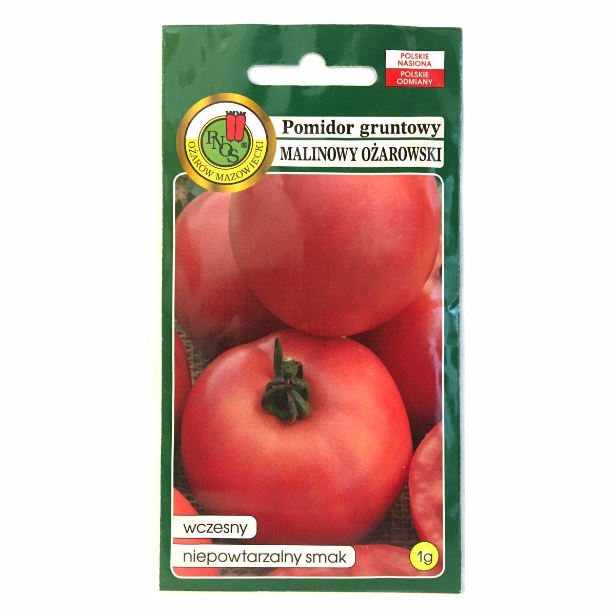 Pomidor Malinowy Ożarowski nasiona PNOS
