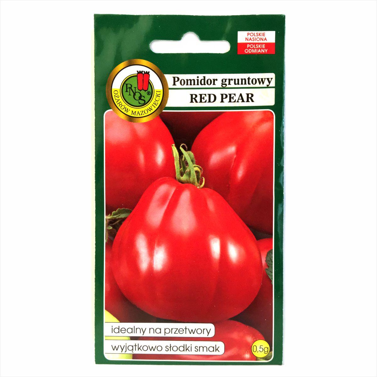 Pomidor Red Pear nasiona PNOS