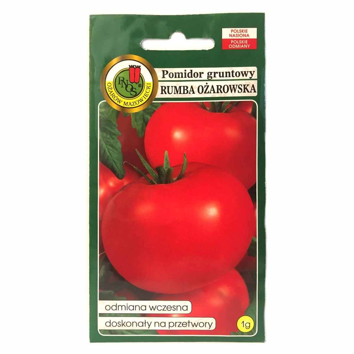 Pomidor rumba Ożarowska nasiona PNOS