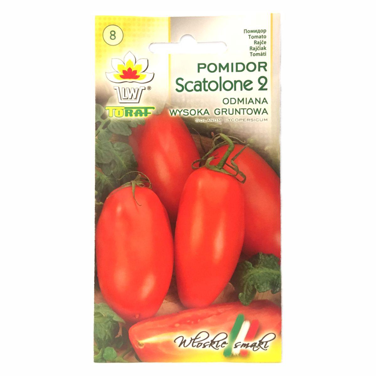 Pomidor Scatolone 2 nasiona Toraf