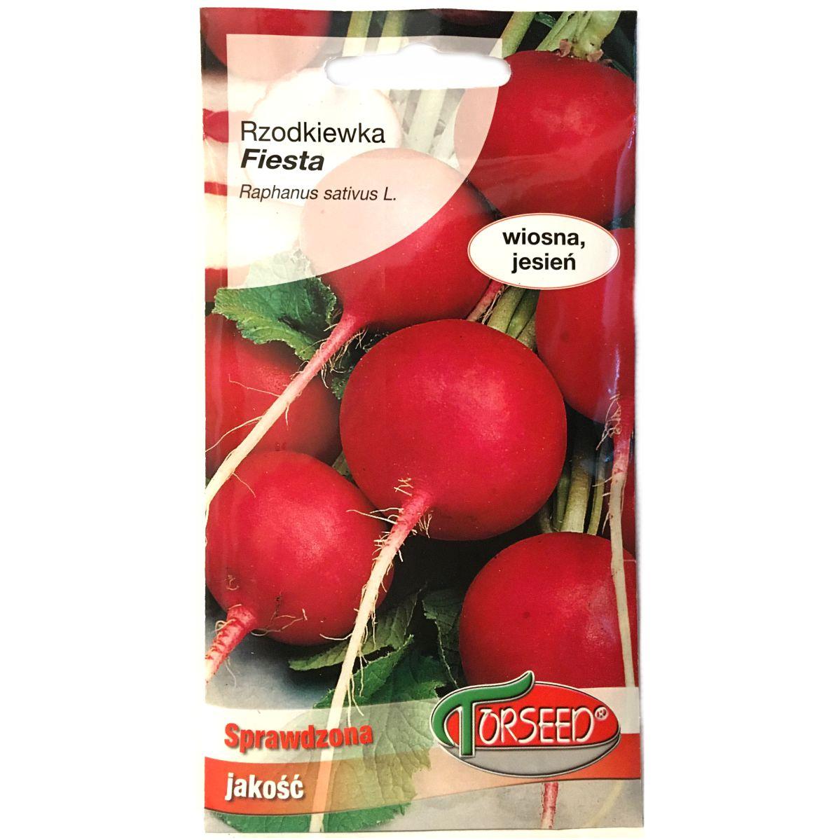 Rzodkiewka Fiesta nasiona Torseed