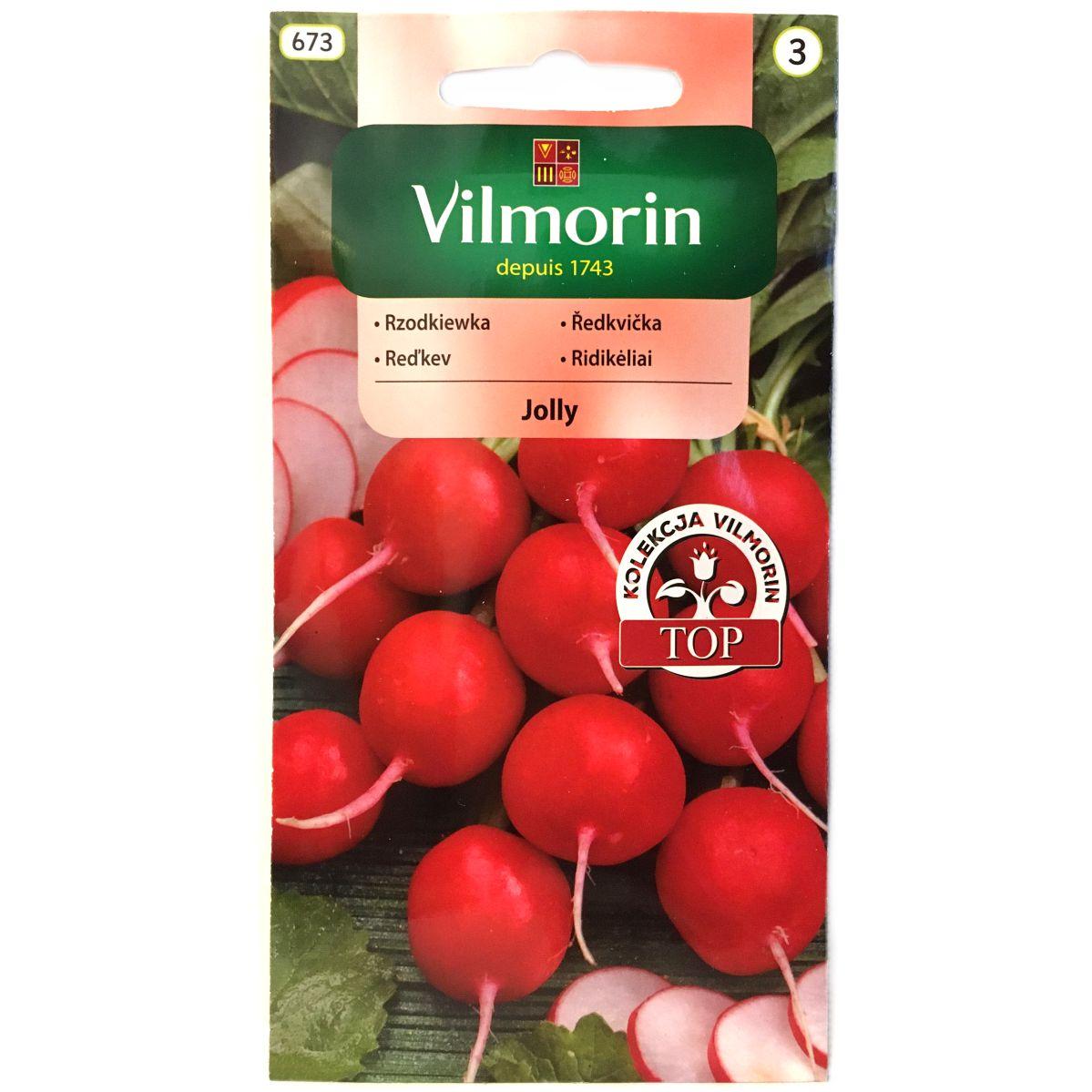 Rzodkiewka Jolly nasiona Vilmorin