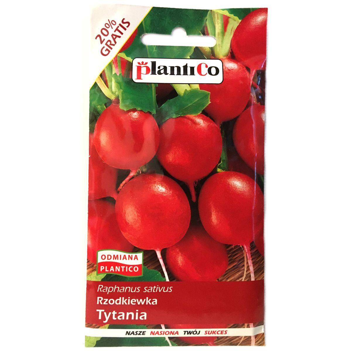 Rzodkiewka Tytania nasiona Plantico