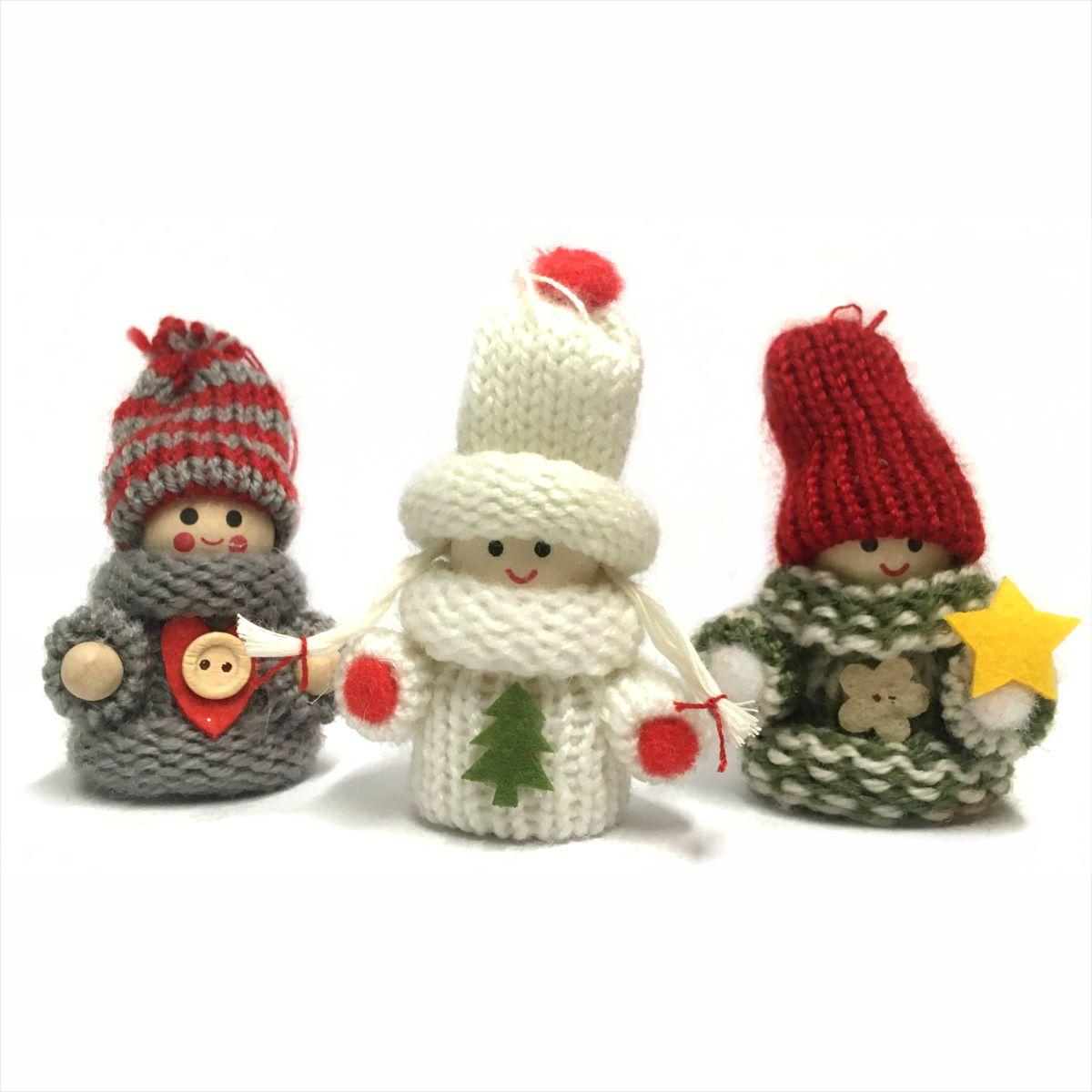 Świąteczna figurka dzieci