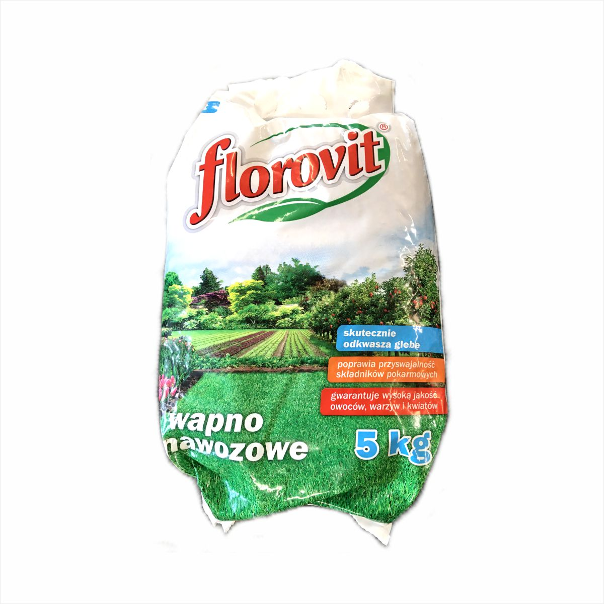 Wapno nawozowe granulowane Florovit 5 kg