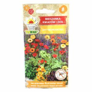 Antykomarowa mieszanka kwiatów i ziół nasiona Toraf