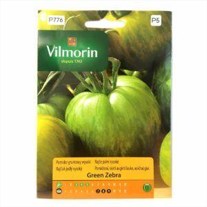 Pomidor Green Zebra nasiona Vilmorin